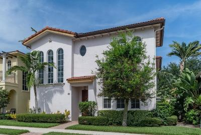 Palm Beach Gardens Single Family Home For Sale: 82 Stoney Drive