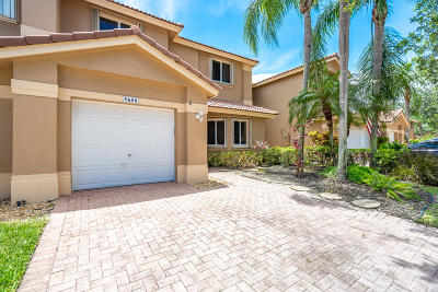 Coral Springs Townhouse For Sale: 5658 NW 125th Avenue