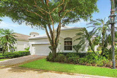 Palm Beach Gardens Single Family Home For Sale: 120 Sunset Bay Drive