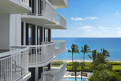 Palm Beach Condo For Sale: 2580 S Ocean Boulevard #1a6