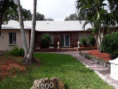 Boca Raton Single Family Home For Sale: 1200 SW 15th Street