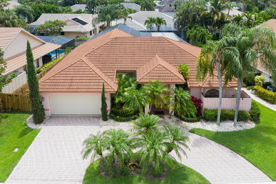 Palm Beach Gardens Single Family Home For Sale: 12957 Calais Circle