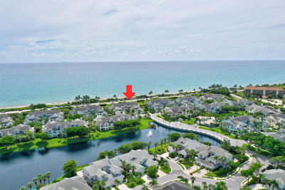 Jupiter Townhouse For Sale: 406 Mainsail Circle