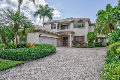 Palm Beach Gardens Single Family Home For Sale: 13852 Degas Drive E