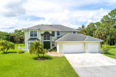 West Palm Beach Single Family Home For Sale: 12172 89th Place