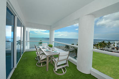 Fort Lauderdale Condo For Sale: 551 Fort Lauderdale Beac #R407