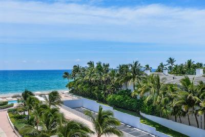 Palm Beach Condo For Sale: 2295 S Ocean Boulevard #607