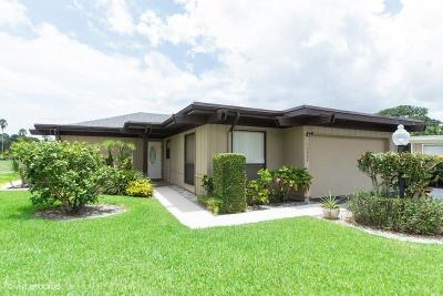 Palm Beach Gardens Single Family Home For Sale: 13864 Whispering Lakes Lane