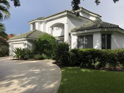 Jupiter Single Family Home Contingent: 6269 Longleaf Pine Drive