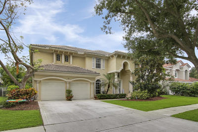 Jupiter Single Family Home For Sale: 345 Kingfisher Drive