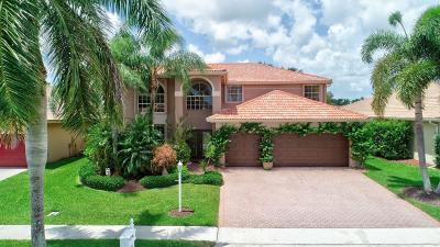 Boca Raton Single Family Home For Sale: 12770 Yardley Drive