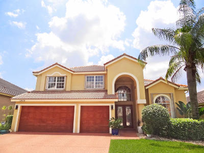 Boca Raton Single Family Home For Sale: 12438 Antille Drive