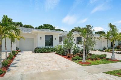 Delray Beach Single Family Home For Sale: 2521 Oceanview Avenue