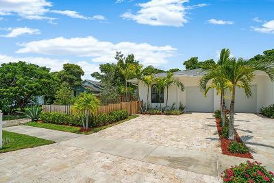 Delray Beach Townhouse For Sale: 2517 Oceanview Avenue