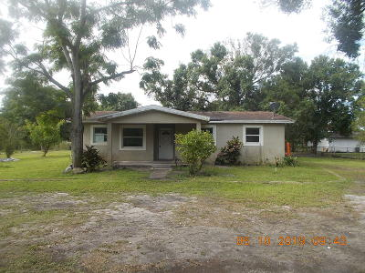 Okeechobee Single Family Home For Sale: 984 NW 102nd Street