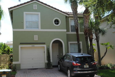 West Palm Beach Single Family Home Contingent: 4404 Lake Lucerne Circle