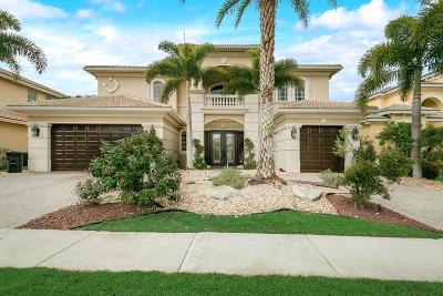 West Palm Beach Single Family Home Contingent: 586 Edgebrook Lane