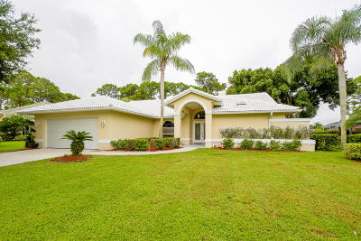 Port Saint Lucie Single Family Home For Sale: 1172 SW Bent Pine Cove