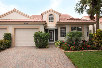 Delray Beach Single Family Home For Sale: 7839 Silver Lake Drive