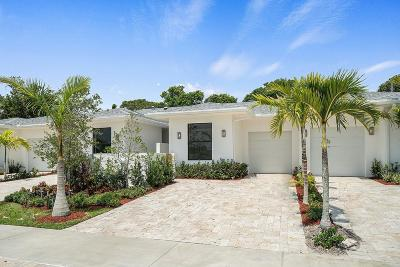 Delray Beach Townhouse For Sale: 2523 Oceanview Avenue