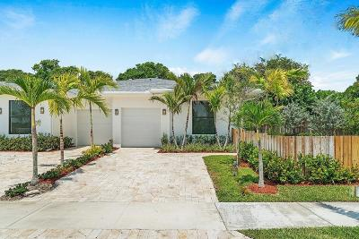 Delray Beach Single Family Home For Sale: 2525 Oceanview Avenue