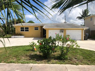 Lake Park Single Family Home For Sale: 350 Cypress Drive