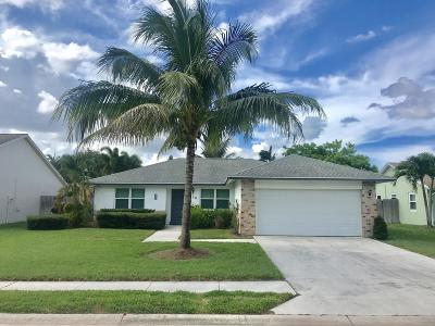 Jupiter Single Family Home Contingent: 178 Arrowhead Circle