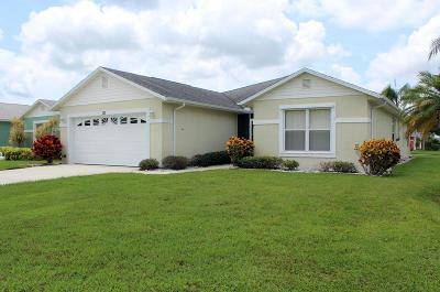 Fort Pierce Single Family Home For Sale: 361 Banana Lane