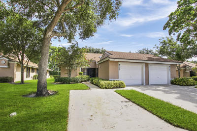 Boca Raton Single Family Home For Sale: 8367 Springlake Drive