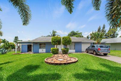 Boynton Beach Single Family Home Contingent: 7157 Glenwood Drive