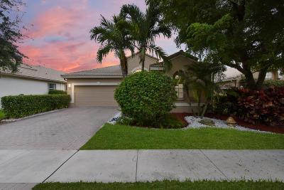 Boynton Beach Single Family Home For Sale: 6321 Copper Lake Court