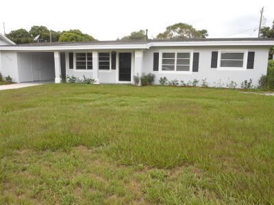 Fort Pierce Single Family Home For Sale: 2100 Esplanade Avenue