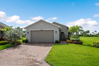 Port Saint Lucie Single Family Home For Sale: 9889 SW Trumpet Tree Circle Nw