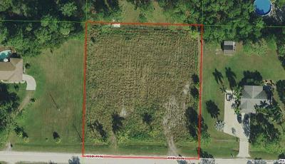 Jupiter Residential Lots & Land For Sale: R-195 155th Place N