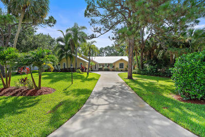 Palm City Single Family Home For Sale: 2999 SW Palm Brook