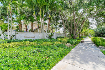 Jupiter Townhouse For Sale: 6174 Riverwalk Lane #1