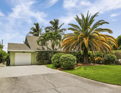 Palm Beach Gardens Single Family Home For Sale: 548 Ivy Avenue