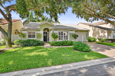 Palm Beach Gardens Single Family Home Contingent: 1097 Roble Way