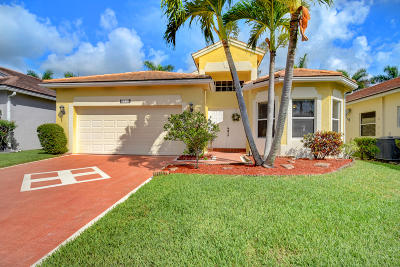 Lake Worth Single Family Home For Sale: 6313 Harbour Oak Drive
