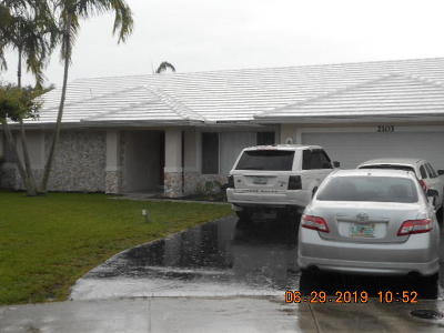 Margate Single Family Home For Sale: 2103 NW 73rd Lane