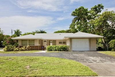 Delray Beach Single Family Home For Sale: 110 Swinton Circle