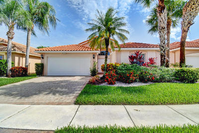Boynton Beach Single Family Home For Sale: 7087 Lombardy Street
