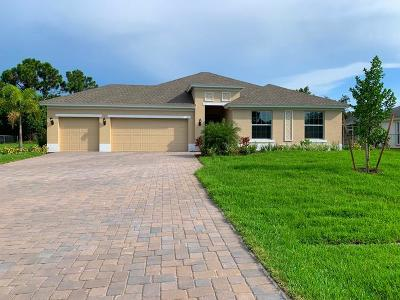 Port Saint Lucie Single Family Home For Sale: 4649 SW Ulster Street