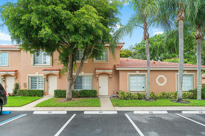 Boynton Beach Townhouse Contingent: 9930 Kamena Circle