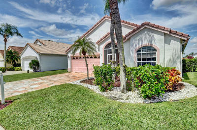 Delray Beach Single Family Home For Sale: 7499 Stirling Bridge Boulevard