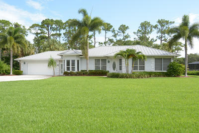 Fort Pierce Single Family Home For Sale: 3407 Bent Pine