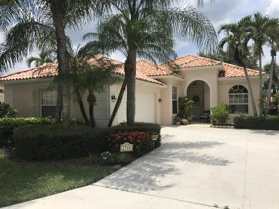 West Palm Beach Single Family Home For Sale: 2745 Kittbuck Way
