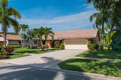 Boca Raton Single Family Home For Sale: 20166 Back Nine Drive