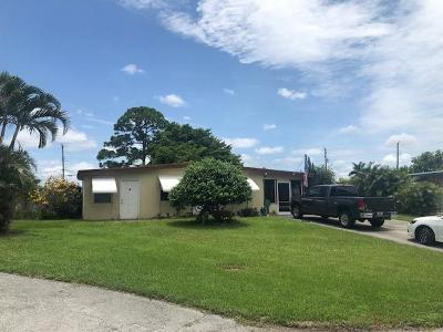 West Palm Beach Single Family Home Contingent: 5544 S Rue Road