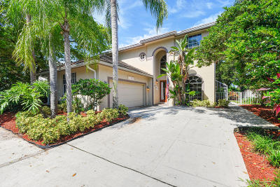 Jupiter Single Family Home For Sale: 106 Stonebriar Boulevard